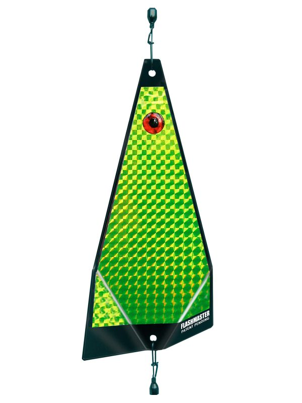 ko solid chartreuse fishing lure