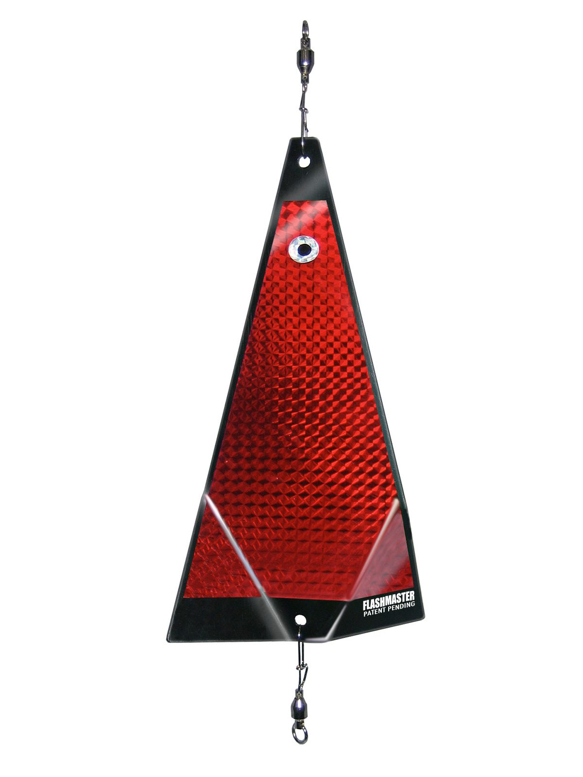 ko solid red fishing lure