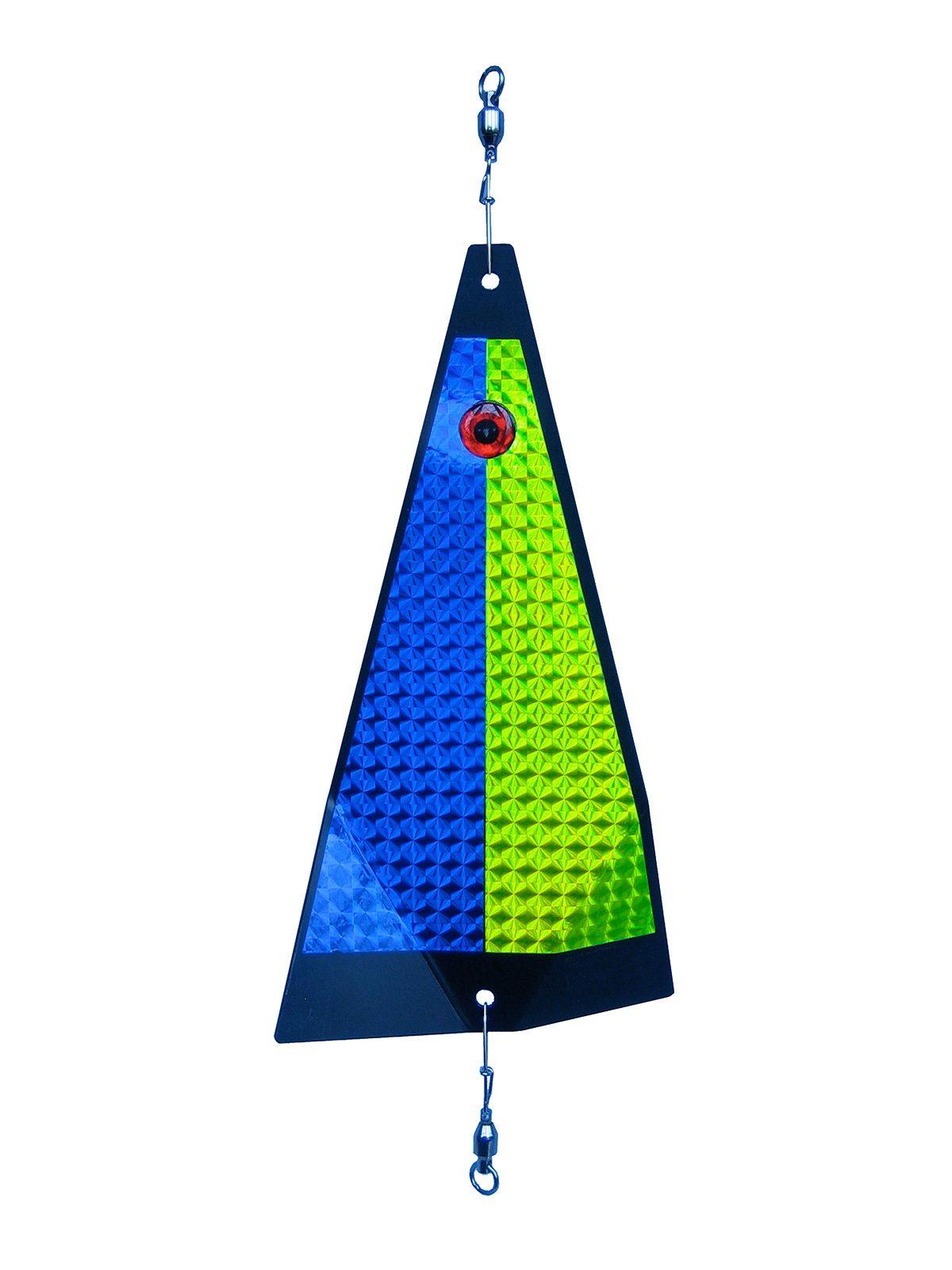 ko split harlequin fishing lure
