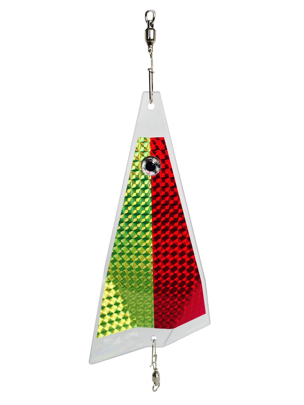 bloody mary clear split fishing lure