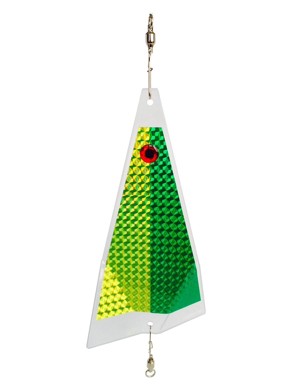 sweet pea clear split fishing lure